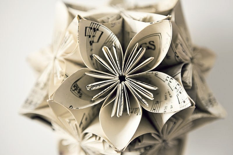 Music-Note-Kusudama-Flower-Ball-Ornament-by-meligami-on-Etsy