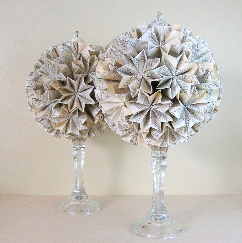 Paper-Topiary-Globe-of-Stars-Origami-Kusudama-8-inch-by-bookBW