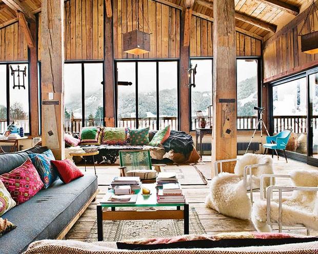 Vogue Дом в Альпах 2