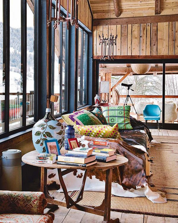 Vogue Дом в Альпах 5