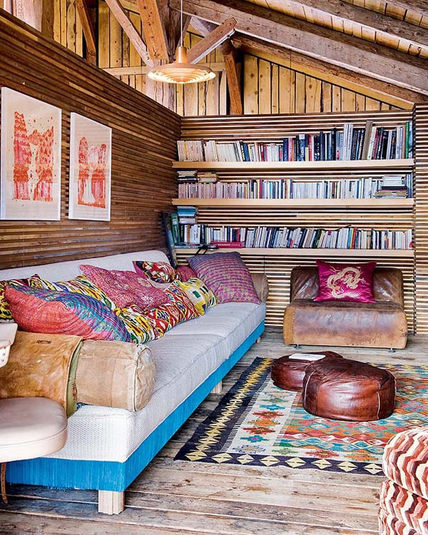 Vogue Дом в Альпах 7