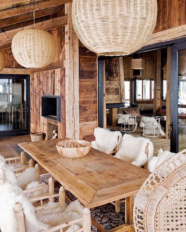 Vogue Дом в Альпах 8