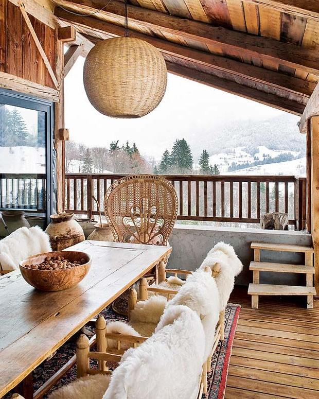 Vogue Дом в Альпах 9
