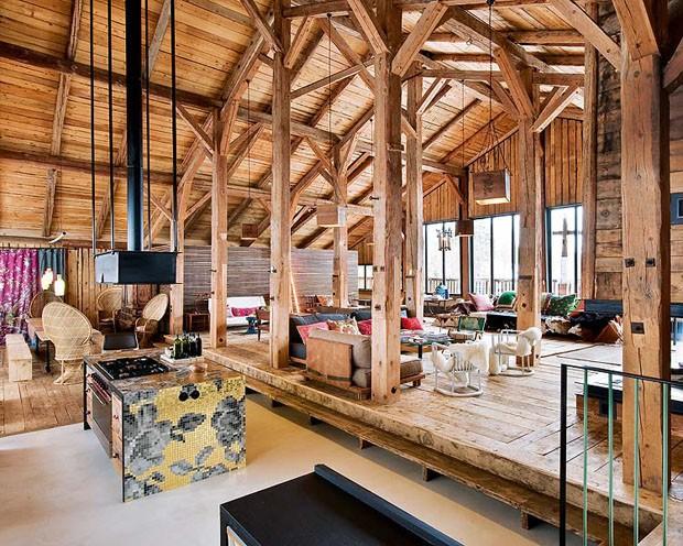 Vogue Дом в Альпах 10