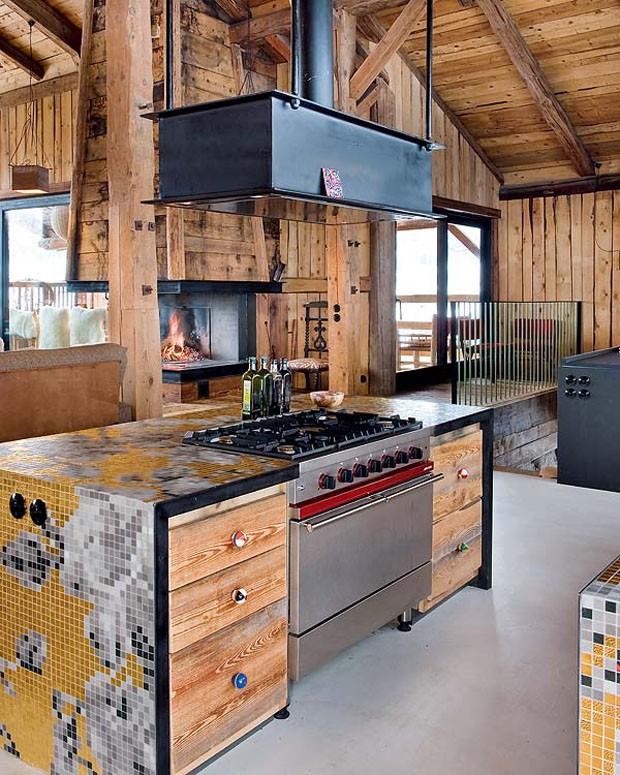 Vogue Дом в Альпах 11