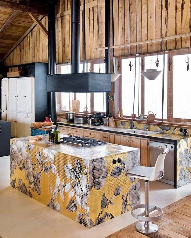 Vogue Дом в Альпах 12
