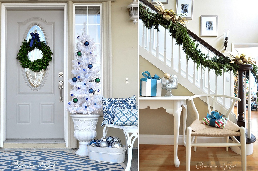 Centsational Girl Holiday Home Tour 3