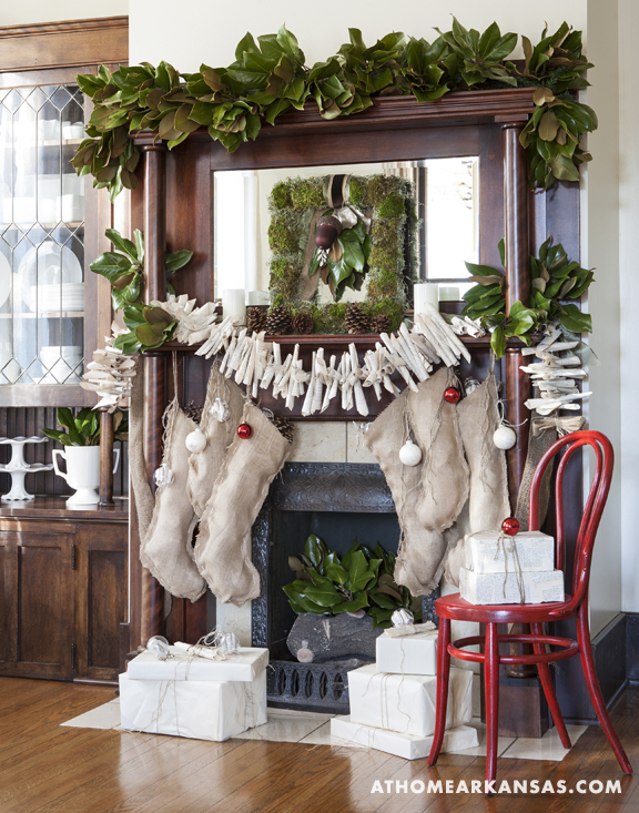 At home with : handmade holiday decor 1
