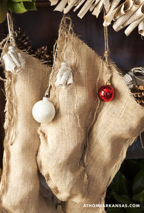 At home with : handmade holiday decor 4