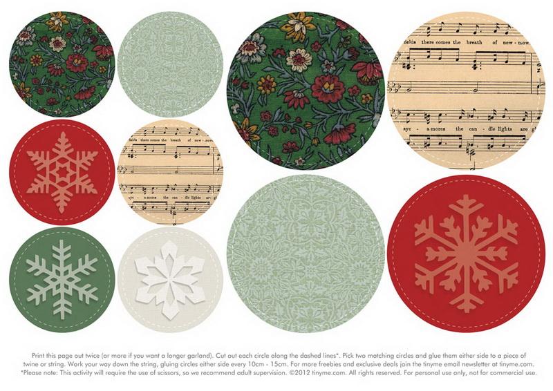 Tinyme Christmas Garland Гирлянда 2