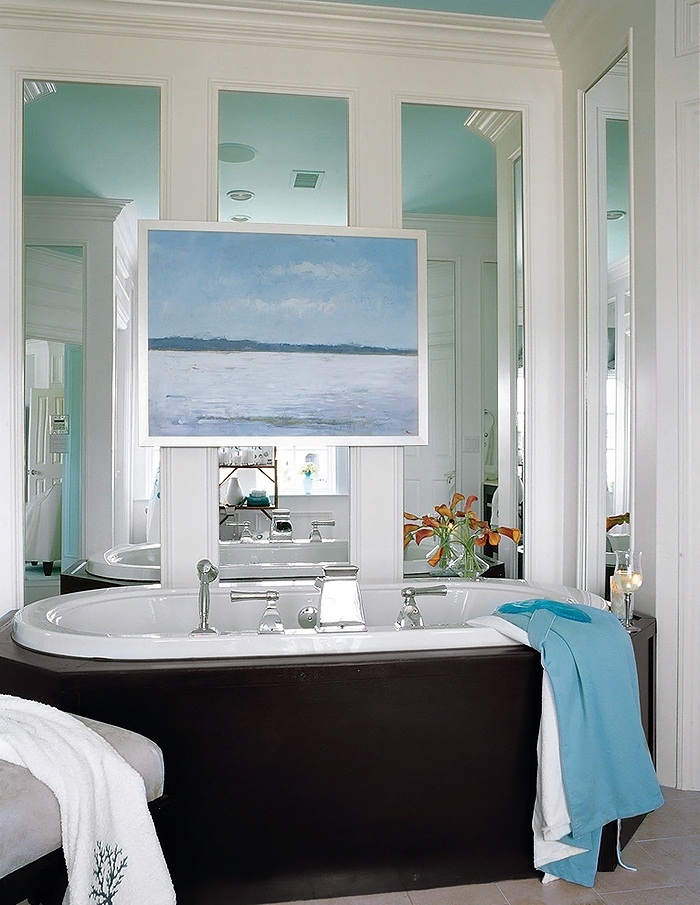Southern living bathrooms