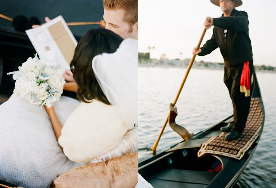 Style Me Pretty  Gondola Holiday Wedding Shoot from Esther Sun Photography 14