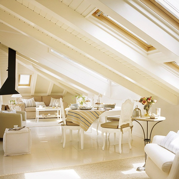Decordemon inspiration beautiful attics - Buhardillas rusticas ...