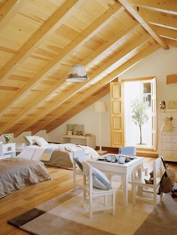 Decordemon inspiration beautiful attics - Casas con buhardilla ...