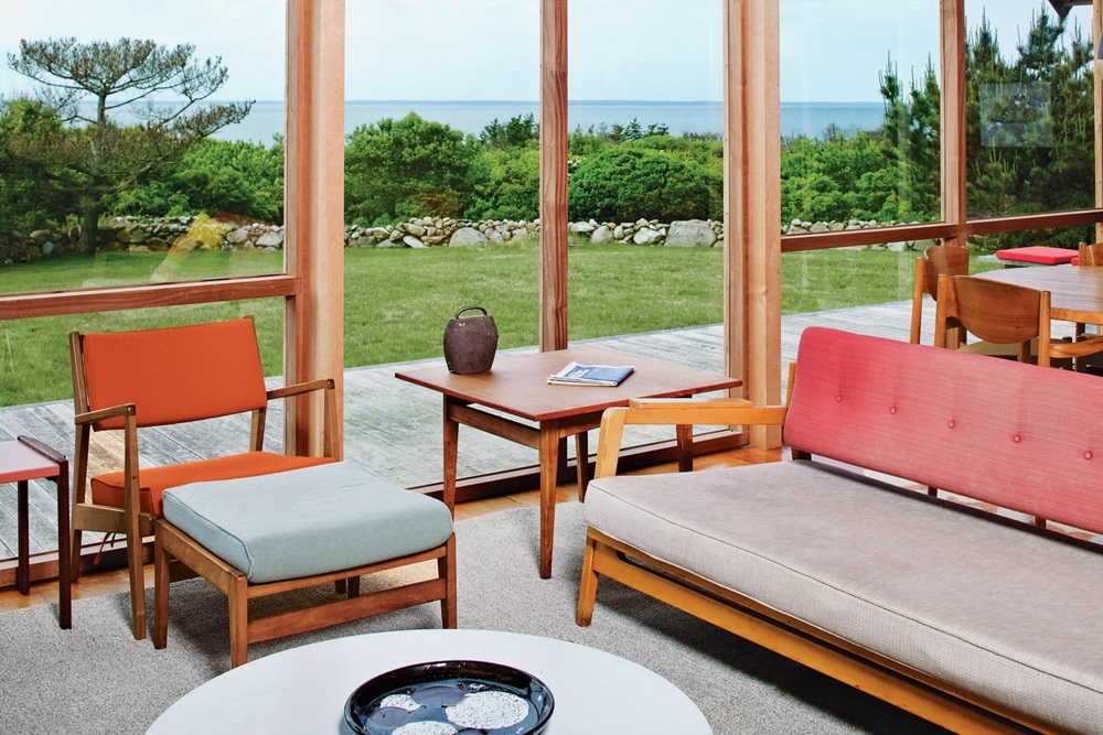 Dwell Jens Risom's Block Island Family Retreat risom-residence-living-room-horizontal
