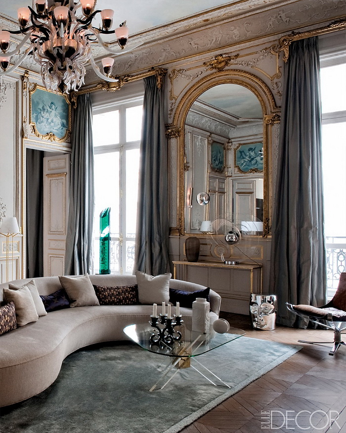 ELLE DECOR Return to Form A Modern Paris Apartment 1