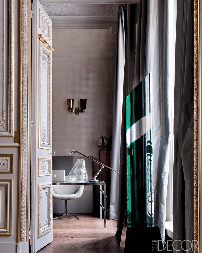 ELLE DECOR Return to Form A Modern Paris Apartment 3