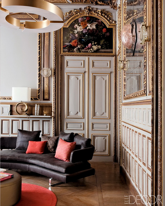 ELLE DECOR Return to Form A Modern Paris Apartment 4