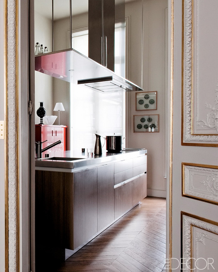 ELLE DECOR Return to Form A Modern Paris Apartment 5