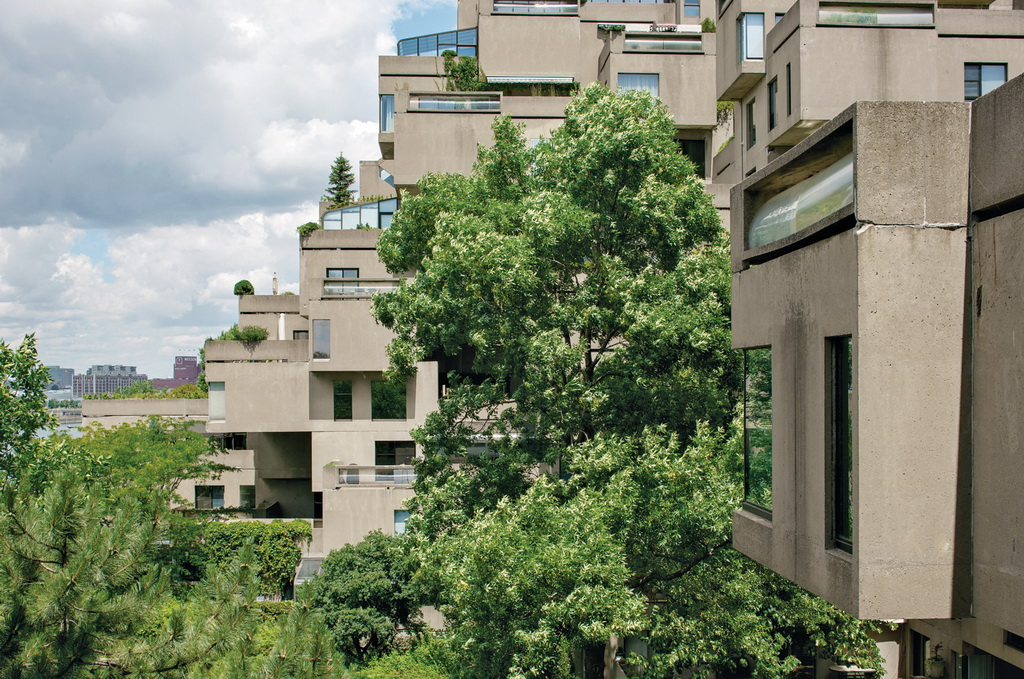 Dwell A Renovated Flat in Moshe Safdie's Habitat '67 peart-weisgerber-building-side-view