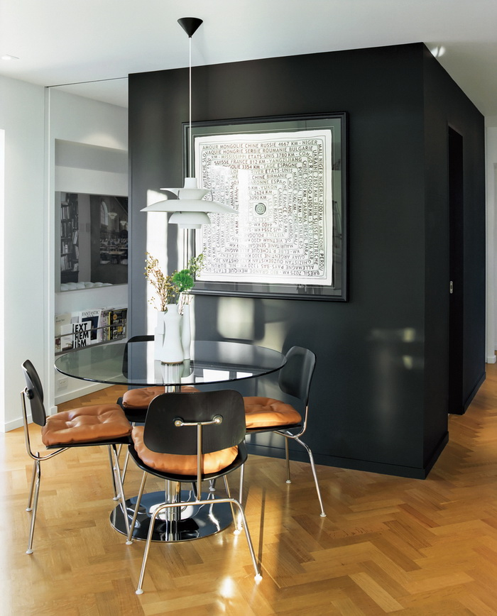 Dwell A Renovated Flat in Moshe Safdie's Habitat '67 peart-weisgerber-dining-room