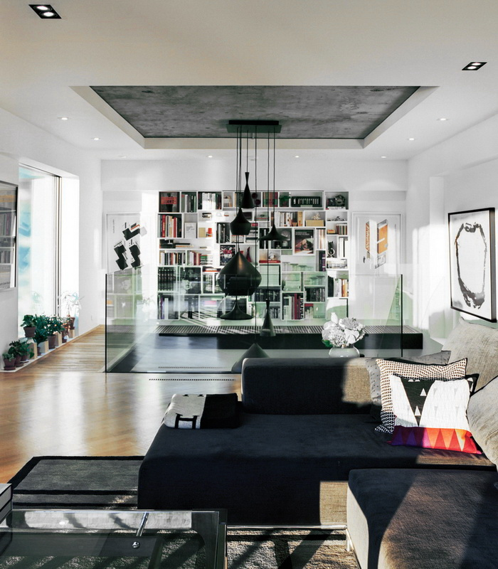 Dwell A Renovated Flat in Moshe Safdie's Habitat '67 peart-weisgerber-living-room