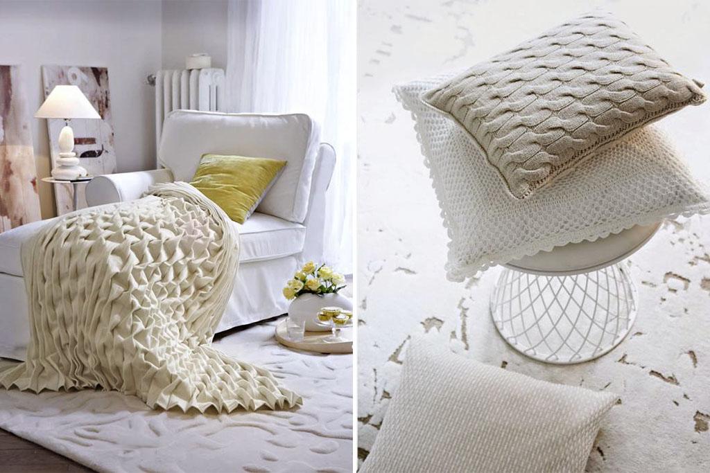 Zuhausewohnen Schlicht und stilvoll Trendfarbe Weib 1
