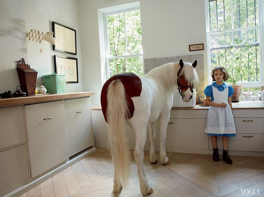 Vogue American Pastoral Miranda Brooks and Bastien Halard's Brooklyn Home 9