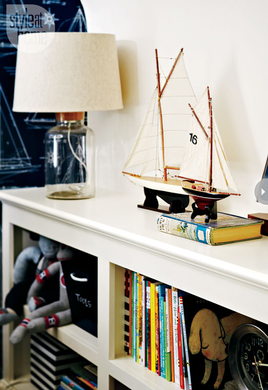 Style At Home Interior A nautical nursery 3