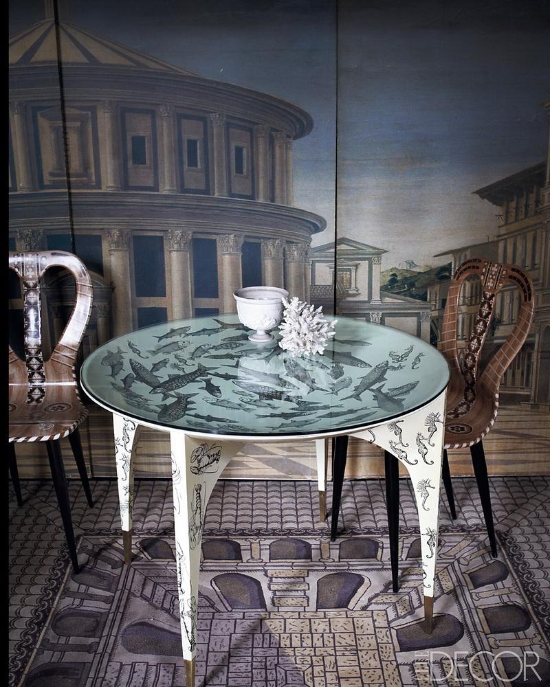 ELLE DECOR Barnaba Fornasetti Milan Home 5