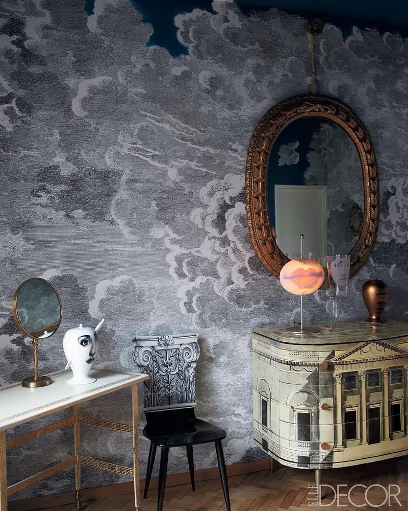 ELLE DECOR Barnaba Fornasetti Milan Home 6
