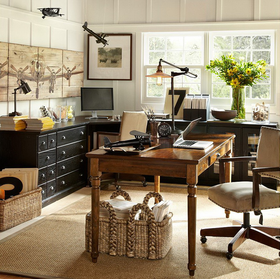 home-office  Pottery Barn 1