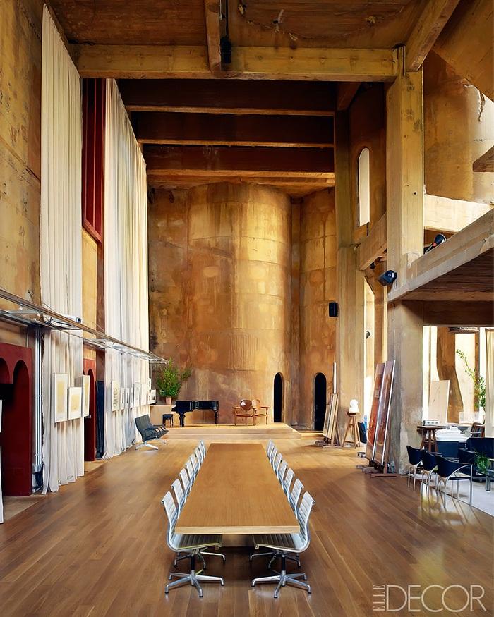 Elle Decor Concrete-Poetry-Ricardo-Bofill-Architecture-4