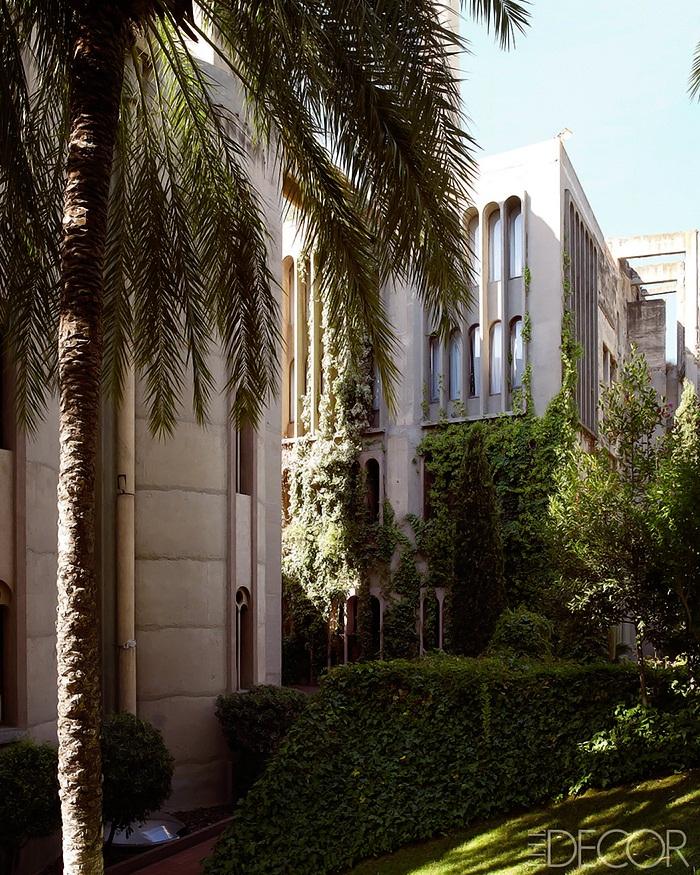 Elle Decor Concrete-Poetry-Ricardo-Bofill-Architecture-9