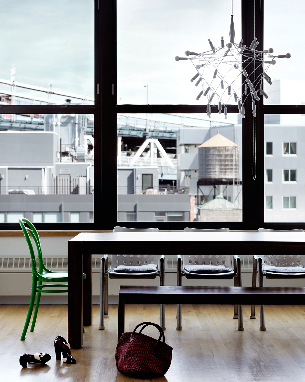 Skona Hem Mixat modernt Brooklynloft 3