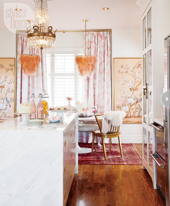 Style At Home Interior Feminine glam home feminineglam-pantry