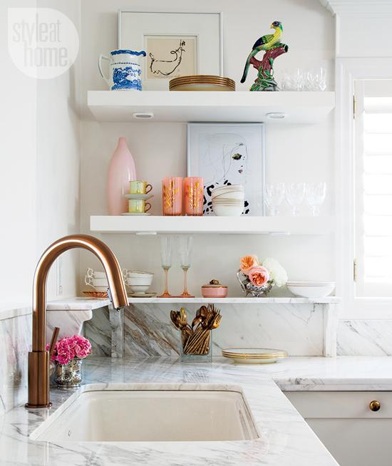 Style At Home Interior Feminine glam home feminineglam-faucet