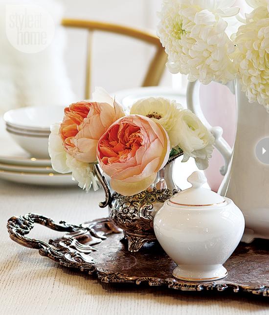 Style At Home Interior Feminine glam home feminineglam-heirlooms
