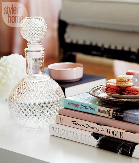 Style At Home Interior Feminine glam home feminineglam-books