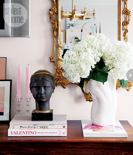 Style At Home Interior Feminine glam home feminineglam-mirror