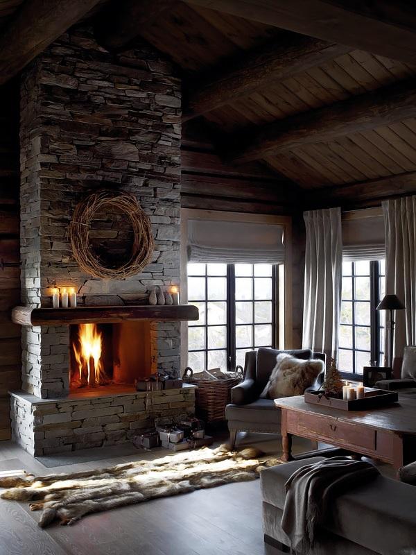 Interior magasinet Tradisjonsrikt hyttetun - pa Norefjells tak 2