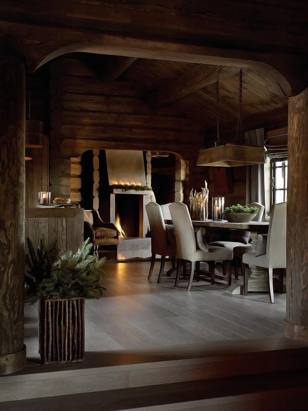 Interior magasinet Tradisjonsrikt hyttetun - pa Norefjells tak 5