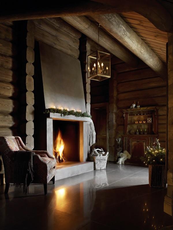 Interior magasinet Tradisjonsrikt hyttetun - pa Norefjells tak 6