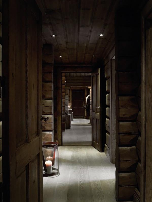 Interior magasinet Tradisjonsrikt hyttetun - pa Norefjells tak 7