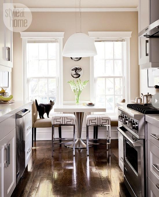 Style At Home Kitchen interior Bistro glamour 1