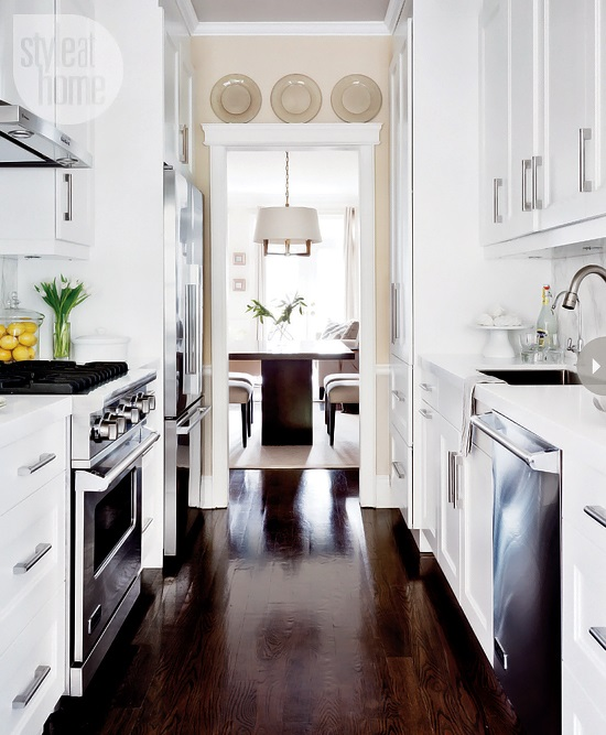 Style At Home Kitchen interior Bistro glamour 2