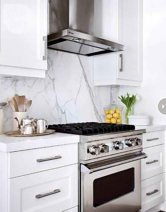 Style At Home Kitchen interior Bistro glamour 3