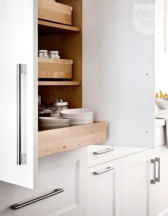 Style At Home Kitchen interior Bistro glamour 4