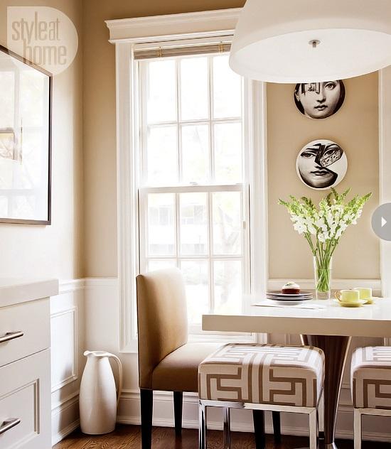 Style At Home Kitchen interior Bistro glamour 5