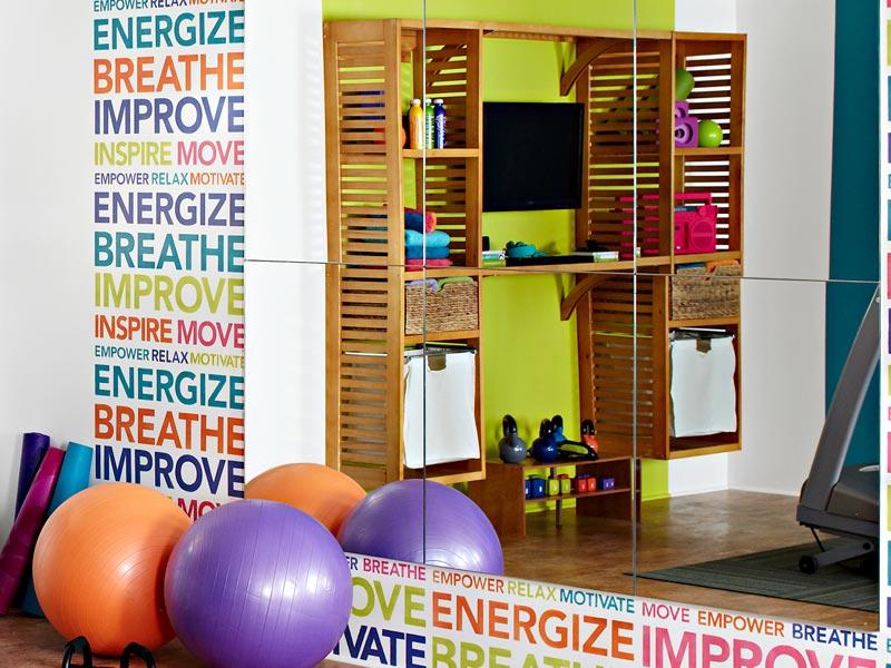 Lowe s Creative Ideas Home Gym Makeover 2